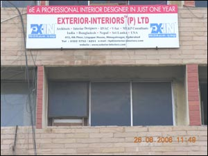 Exterior-Interior Pvt Ltd (Interior Decorators)