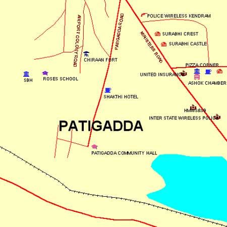 Begumpet Function Plaza Patigadda Maps And Directions - Us consulate hyderabad address map