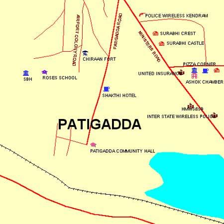 HMWSSB Prakash Nagar Circle (Minister Road) - Maps and