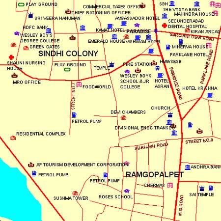 10 Downing Street - Begumpet (Begumpet) - Maps and Directions ... on