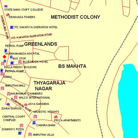 DE Shaw India Private Limited (Banjara Hills) - Maps and ... Directions Of India Map on