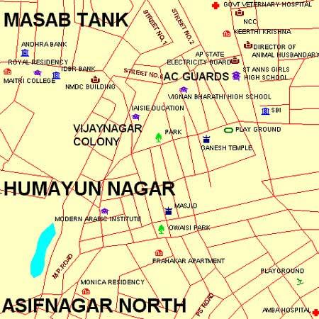 Mahavir Hospital & Research Centre (Masab Tank) - Maps and