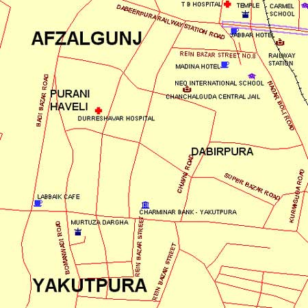 Hotel Choice (Purani Haveli) - Maps and Directions - fullhyd.com on