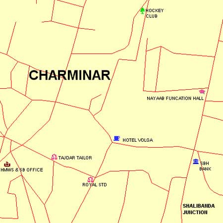 Police Station, Moghalpura Outpost (Charminar) - Maps and Directions on
